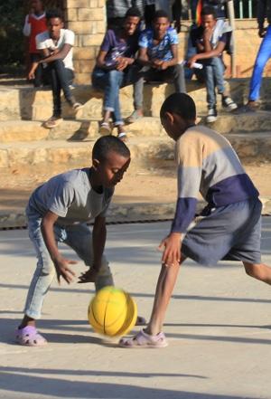 Escuela de deporte en St. Mary