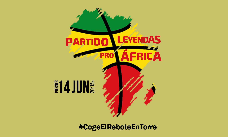 Partido «Leyendas Pro África»