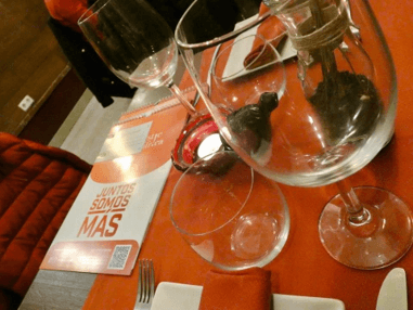 Cenas solidarias en el restaurante «Cinco Sentidos»