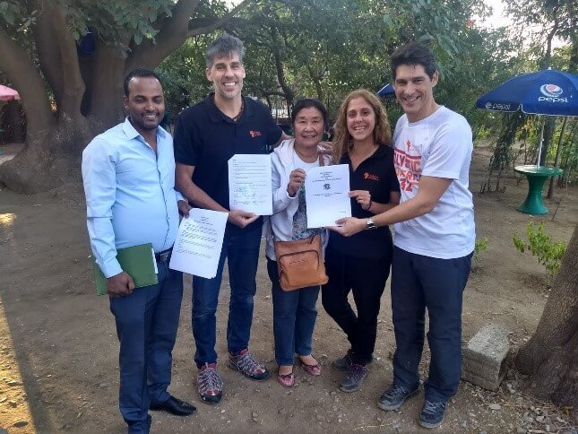 Proyecto Matronas, Holystic ProÁfrica y el departamento de maternidad de la Universidad de Ciencias de la Salud de Mekele